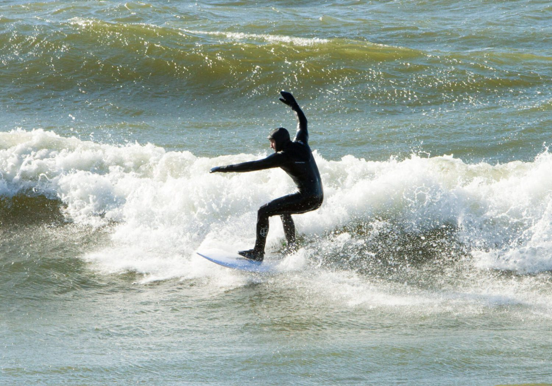 Nico surf session at st. Joe