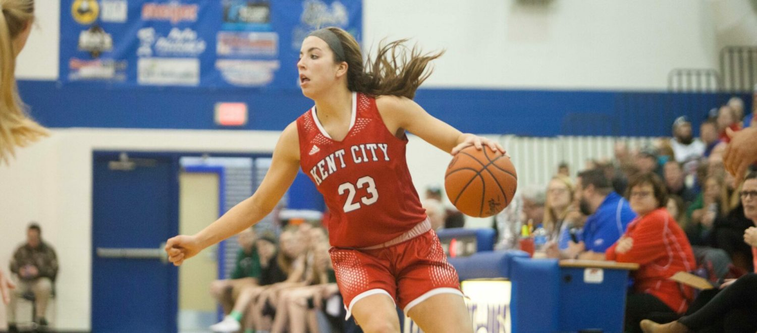 Hot shooting Kent City girls roll past WMC in Division 3 district championship game