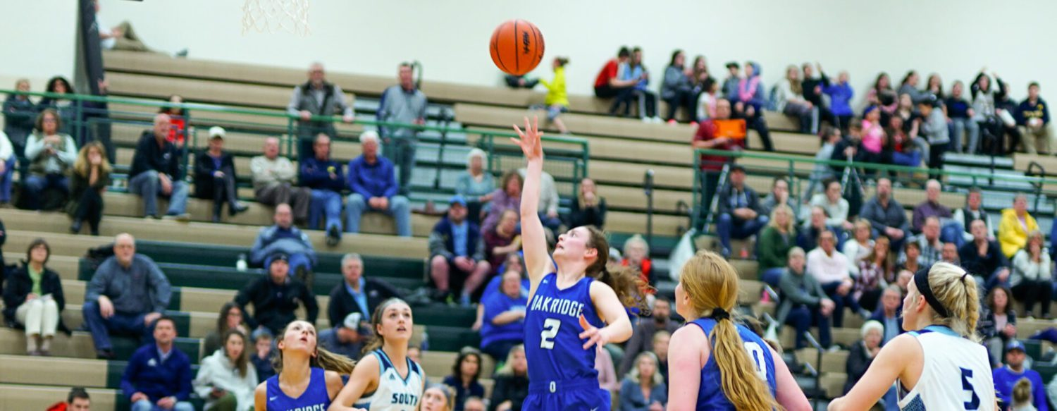Oakridge girls lose halftime lead, fall 48-42 to Grand Rapids South Christian in regional finals