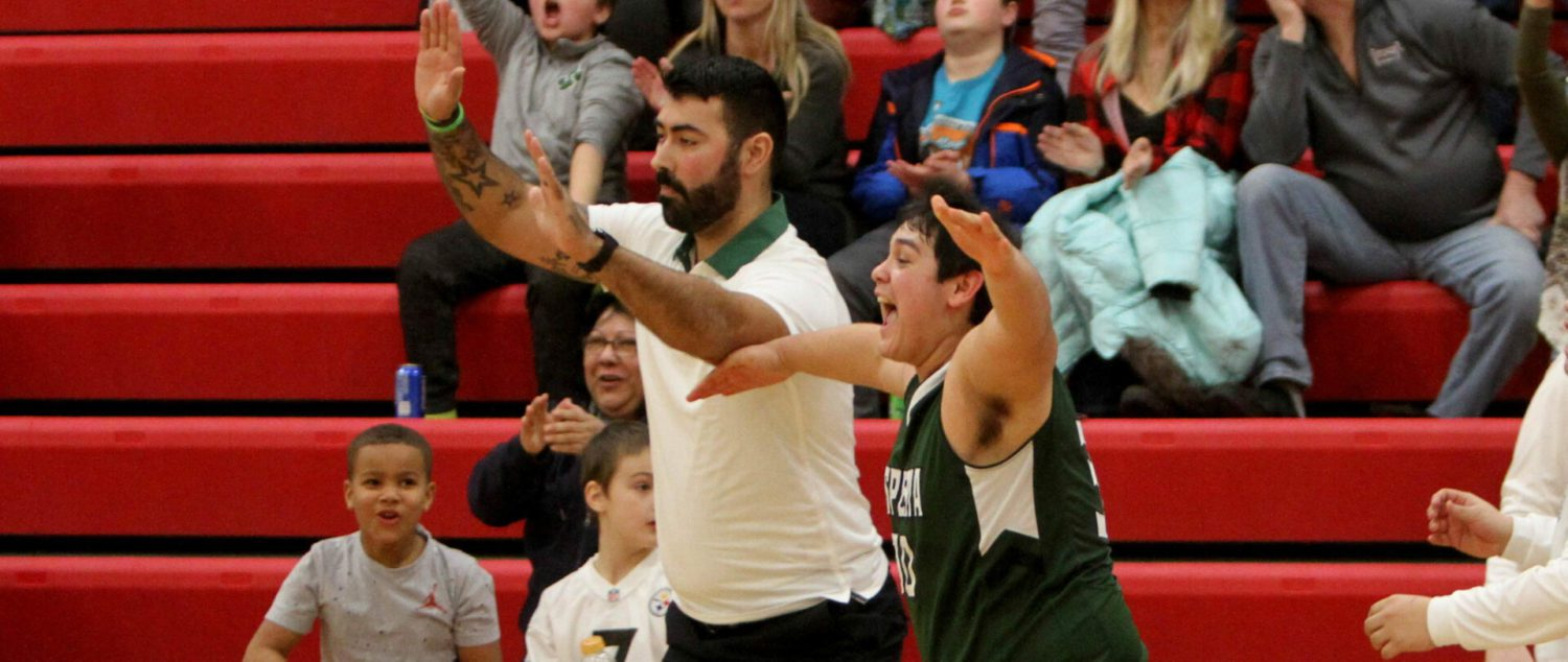 Hesperia boys backed up their coach's words, kept battling until they finally got a win