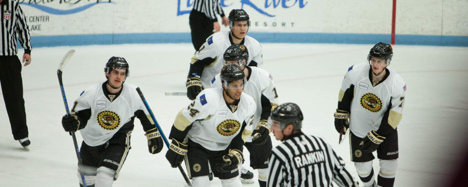 Lumberjacks race past Dubuque 5-1, take a commanding 2-0 lead in playoff series