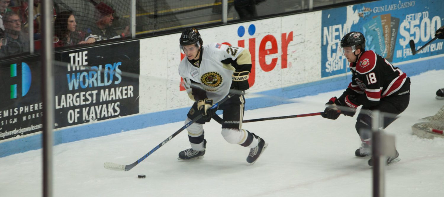 Lumberjacks suffer a heartbreaking 5-4 OT loss to Chicago in Game 1 of conference finals