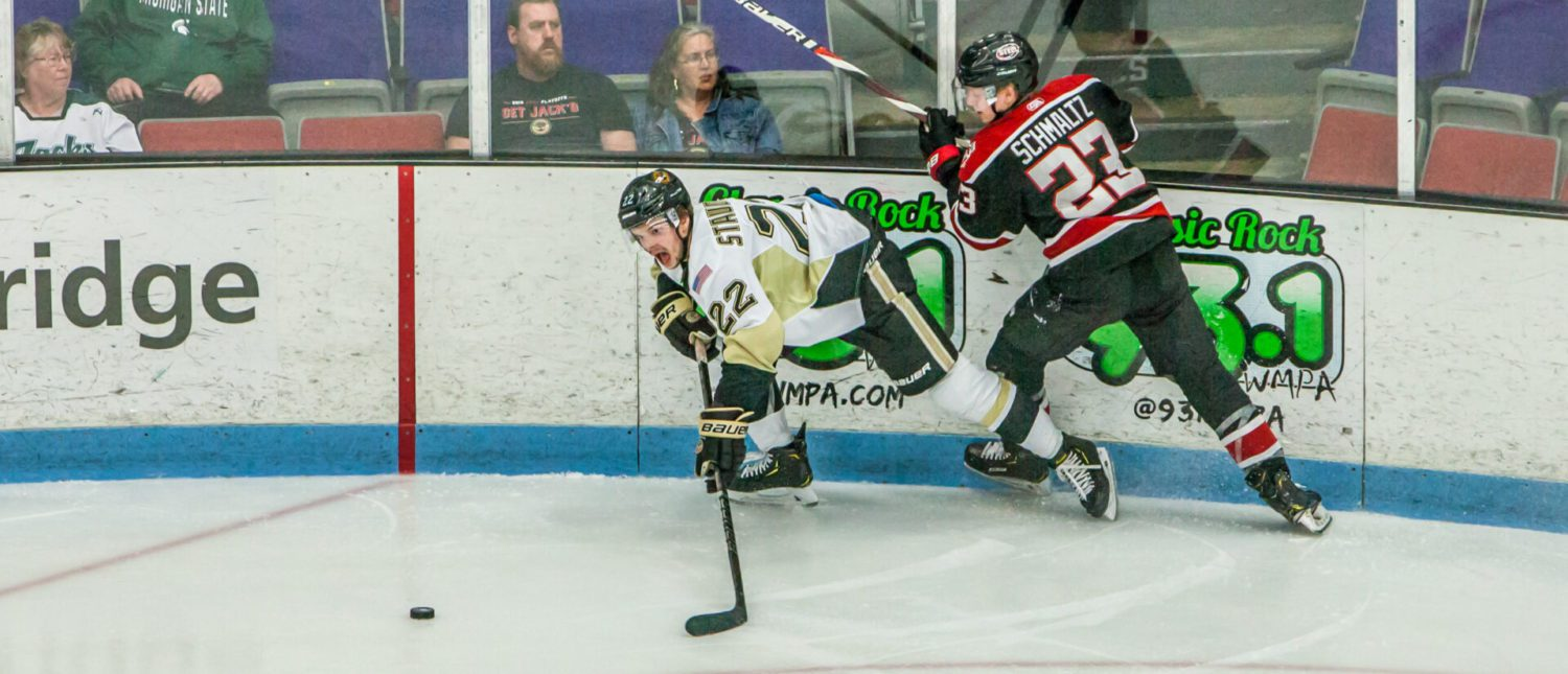 Lumberjacks keep their lead this time, beat Chicago 3-2 in Game 2 of conference finals
