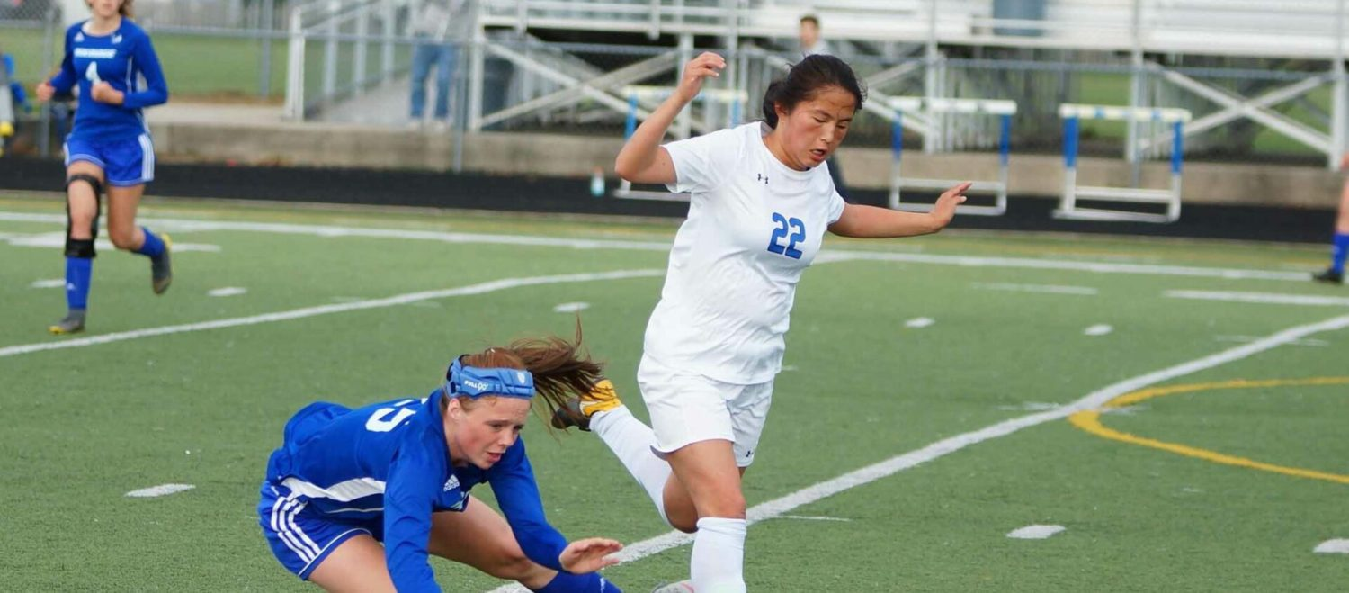 Ravenna girls soccer team only scores once, but it's enough to get past rival Oakridge