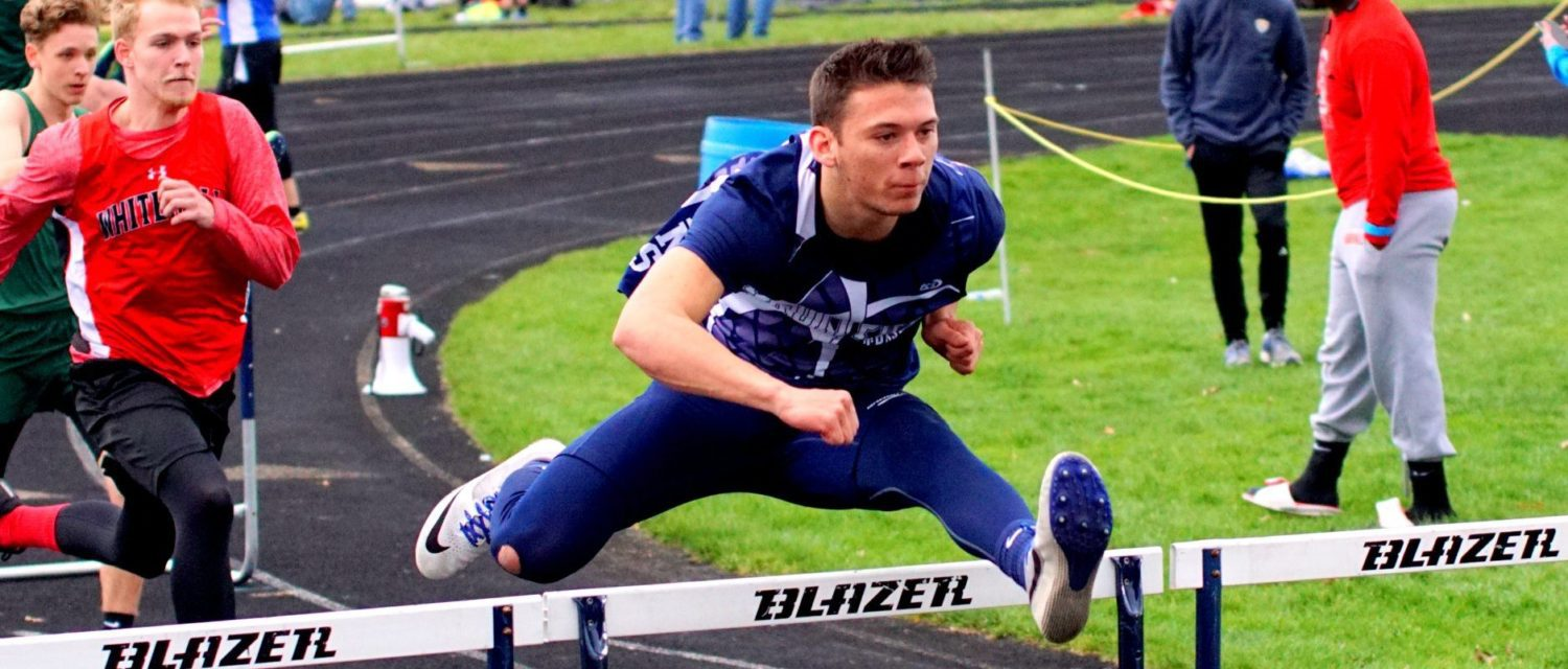 How do you do better than All-State? Fruitport hurdler Ethan Flores wants to find out