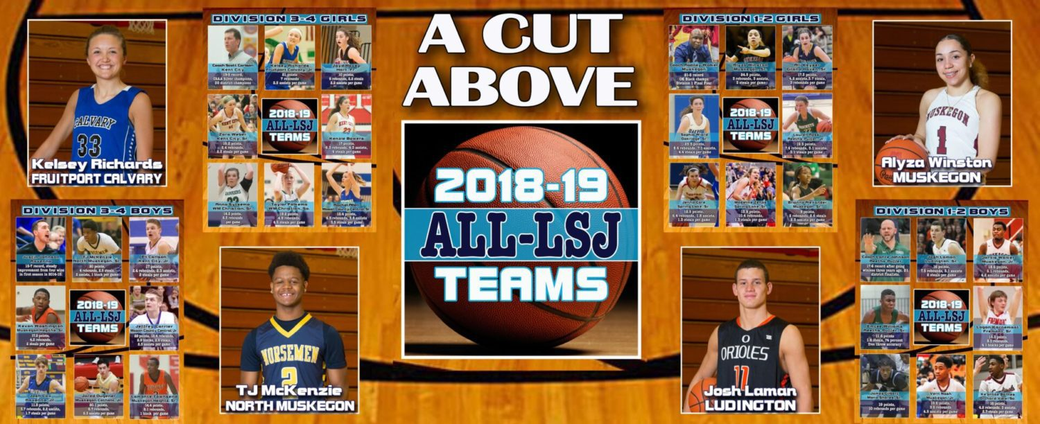 Top 2018-19 ALL-LSJ basketball teams named in latest magazine