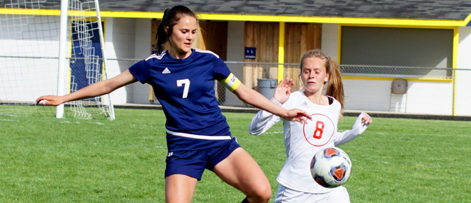Mueller scores four goals, Pitts adds three, and Norse girls win another conference title