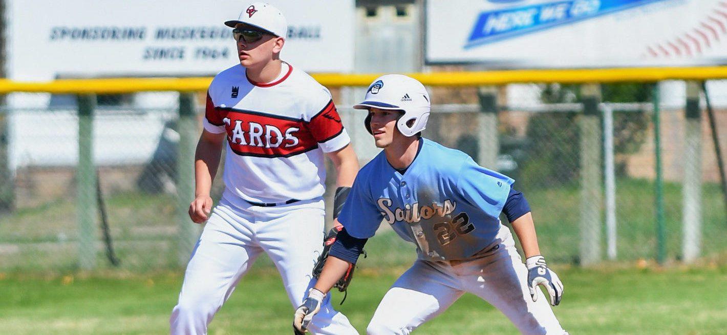 Mona Shores slugger Jackson Neely knocks in nine, Sailors win another city baseball title
