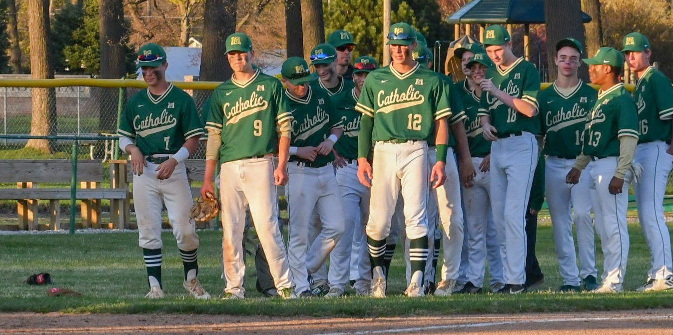 Muskegon Catholic Central baseball team returns to the top of the city tournament