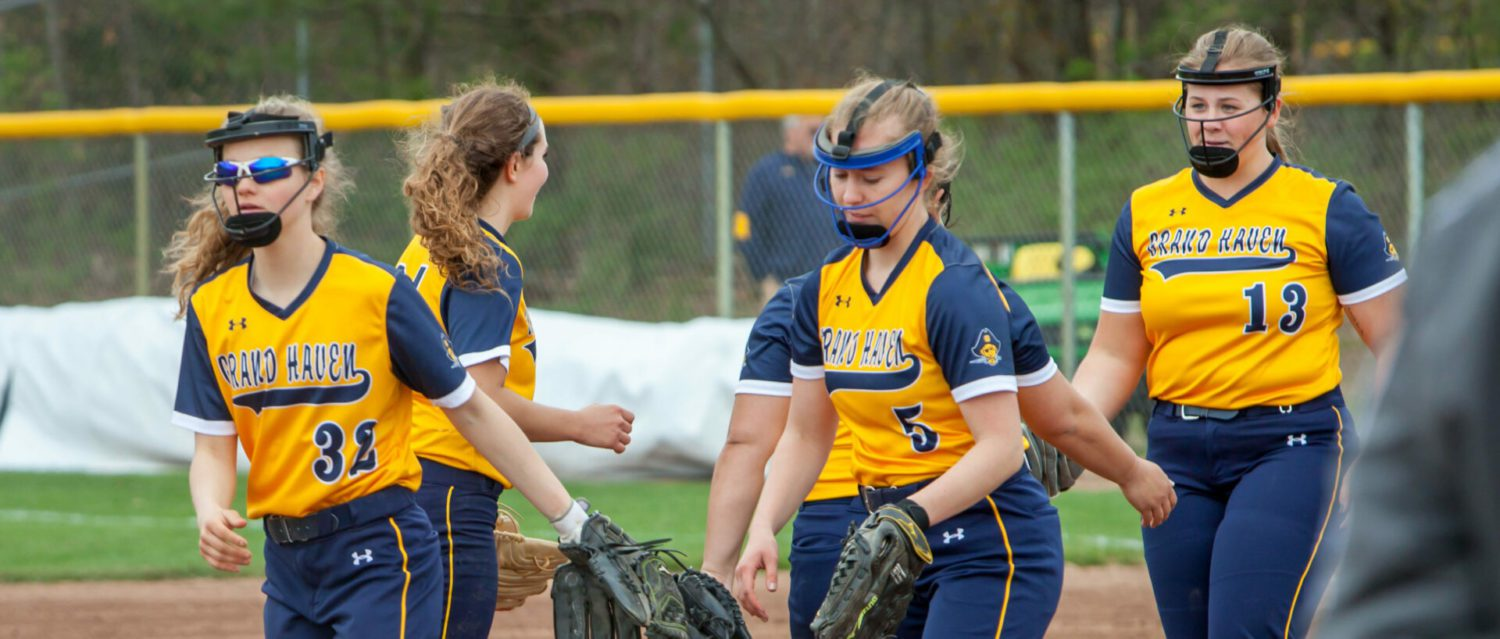 First-place Grand Haven softball team has a very rough game, falling 12-1 to Caledonia