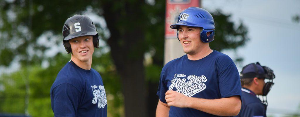Marsh Field All-Star Classic delivers runs for Team Blue, nostalgia for departing seniors