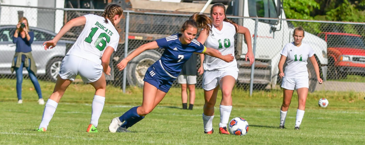 North Muskegon girls soccer team blanks Houghton Lake, wins another regional title
