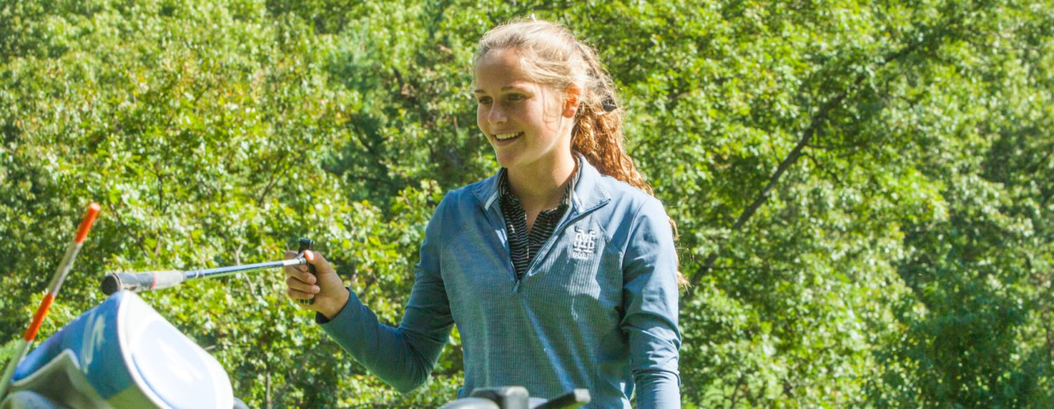 Potts shoots the best round of prep career, helping Mona Shores girls reclaim GMAA city golf championship