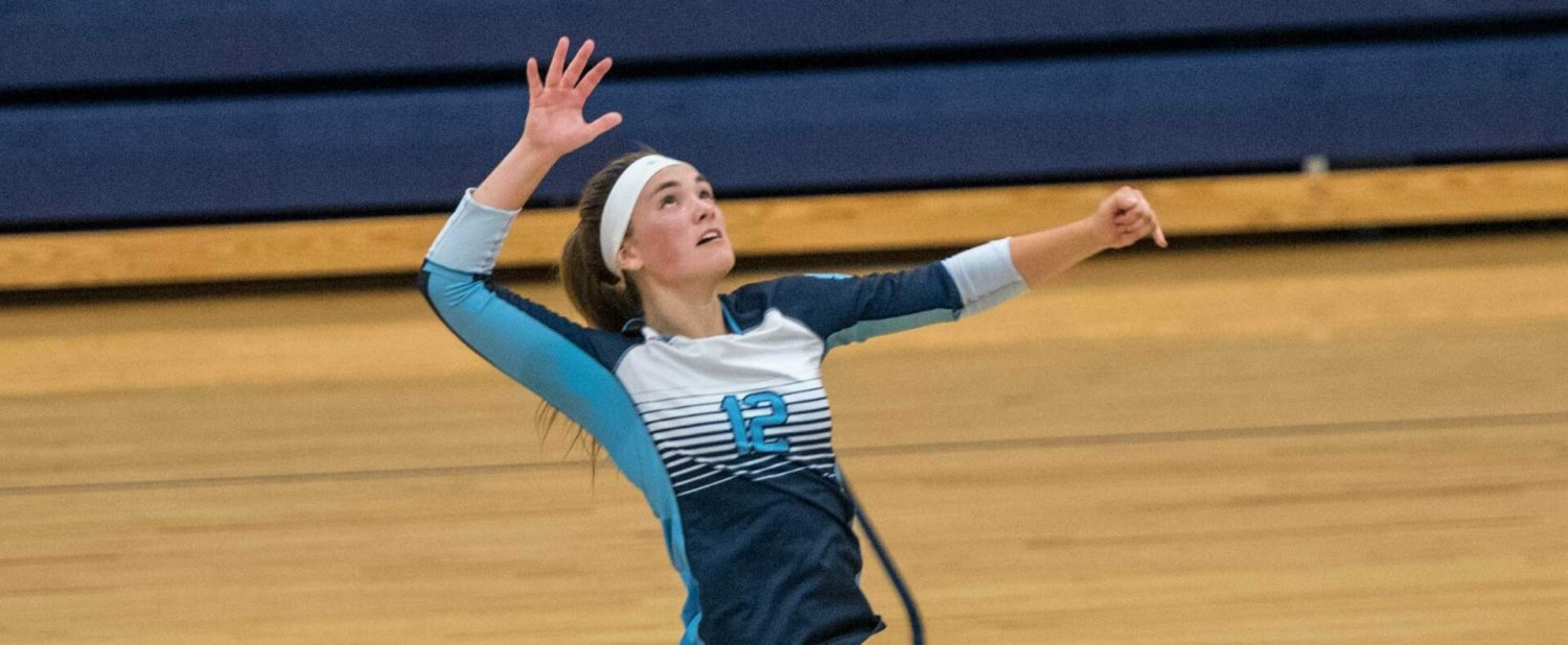 Improving Mona Shores volleyball team comes from behind to beat rival Reeths-Puffer in four sets