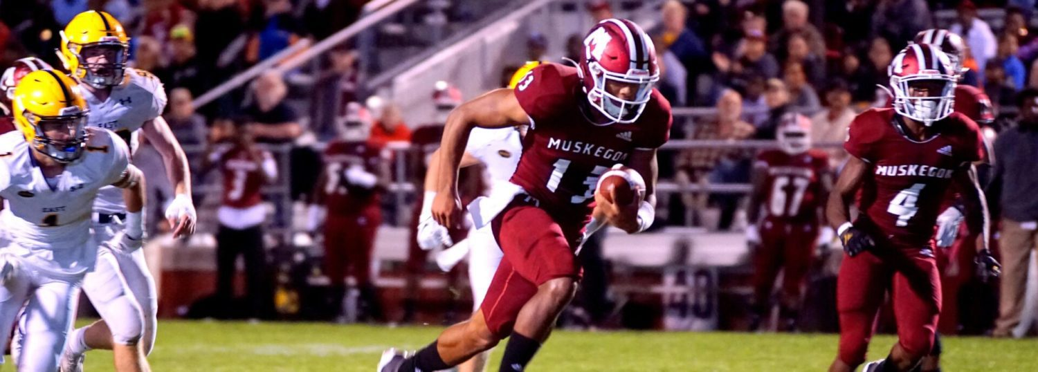 Big Reds get a scare, but hold on for a 28-23 victory over East Grand Rapids