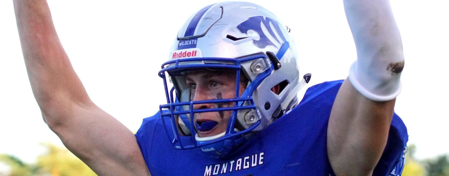 Montague's Schwarz, All-State safety and great receiver, ready to rumble with Oakridge again