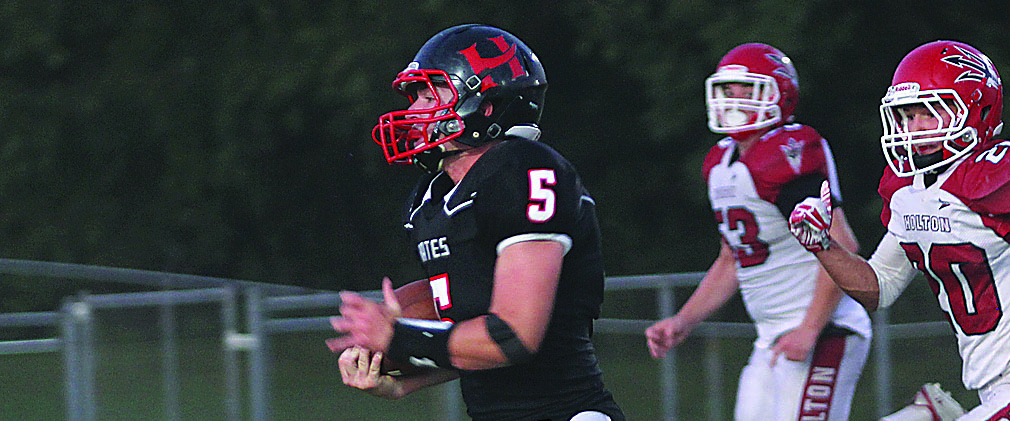 A football dream come true: Hart's Tanner scored 5 TDs in his first varsity game
