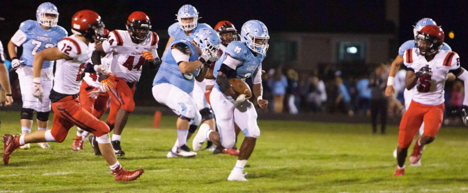 Mona Shores' Tre Hatcher playing in honor of a lost friend, and the results are impressive