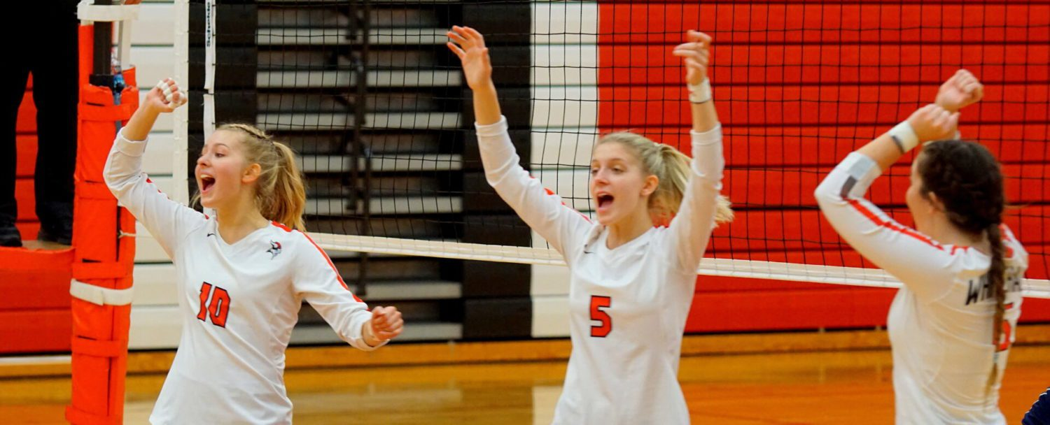 Whitehall volleyball squad powers past Norse, remains perfect in conference play