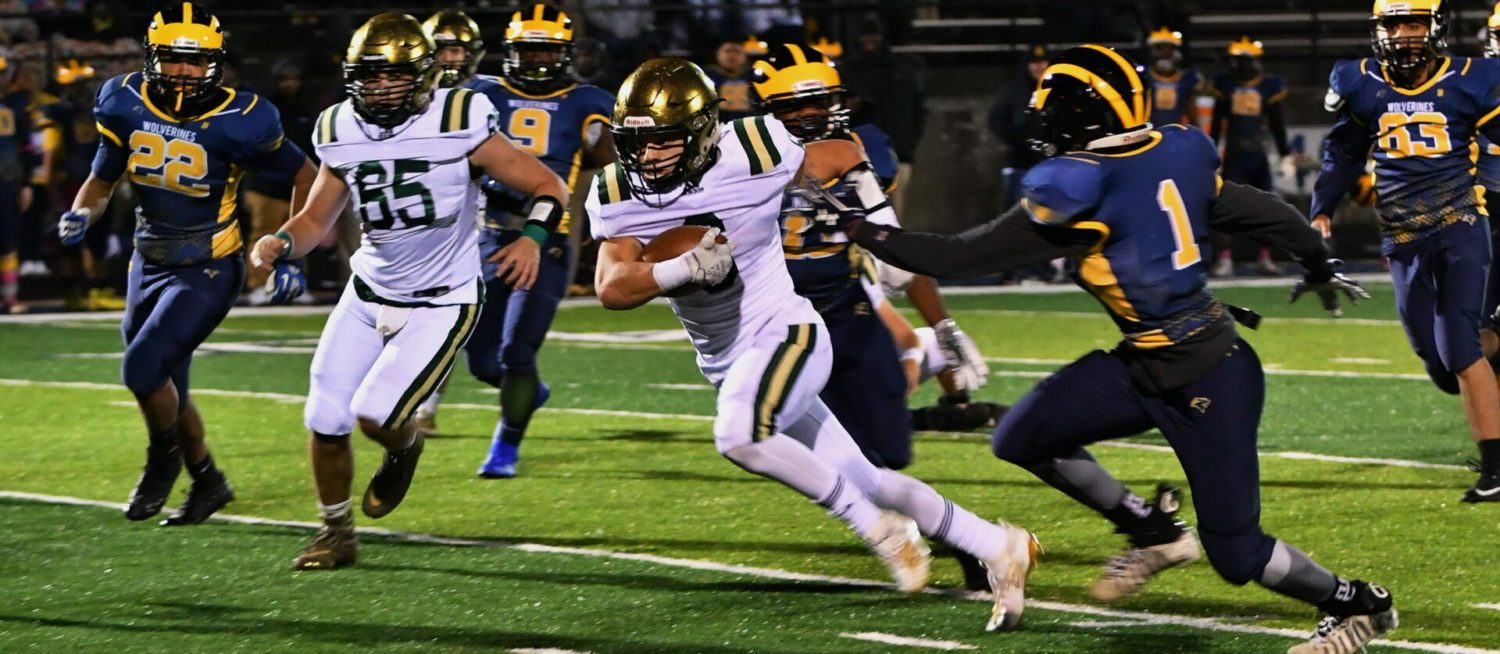 MCC downs Godwin Heights 42-6, finished regular season with five straight victories