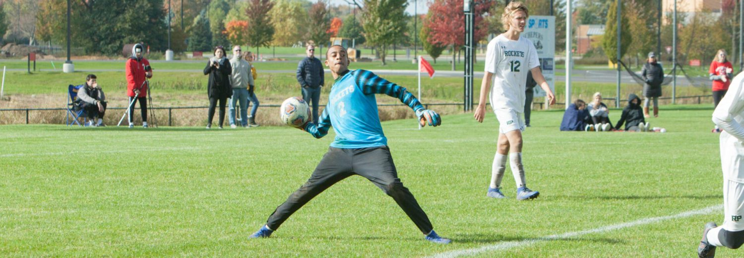 Reeths-Puffer soccer gets great goaltending, stuns Spring Lake 2-1 in Division 2 district championship game