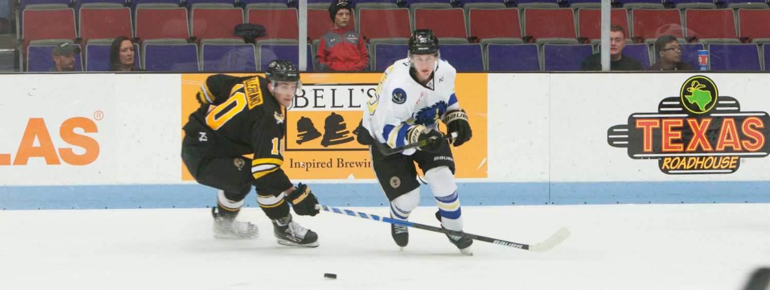 Suddenly-hot Lumberjacks even their record with exciting 3-2 victory over Green Bay Gamblers