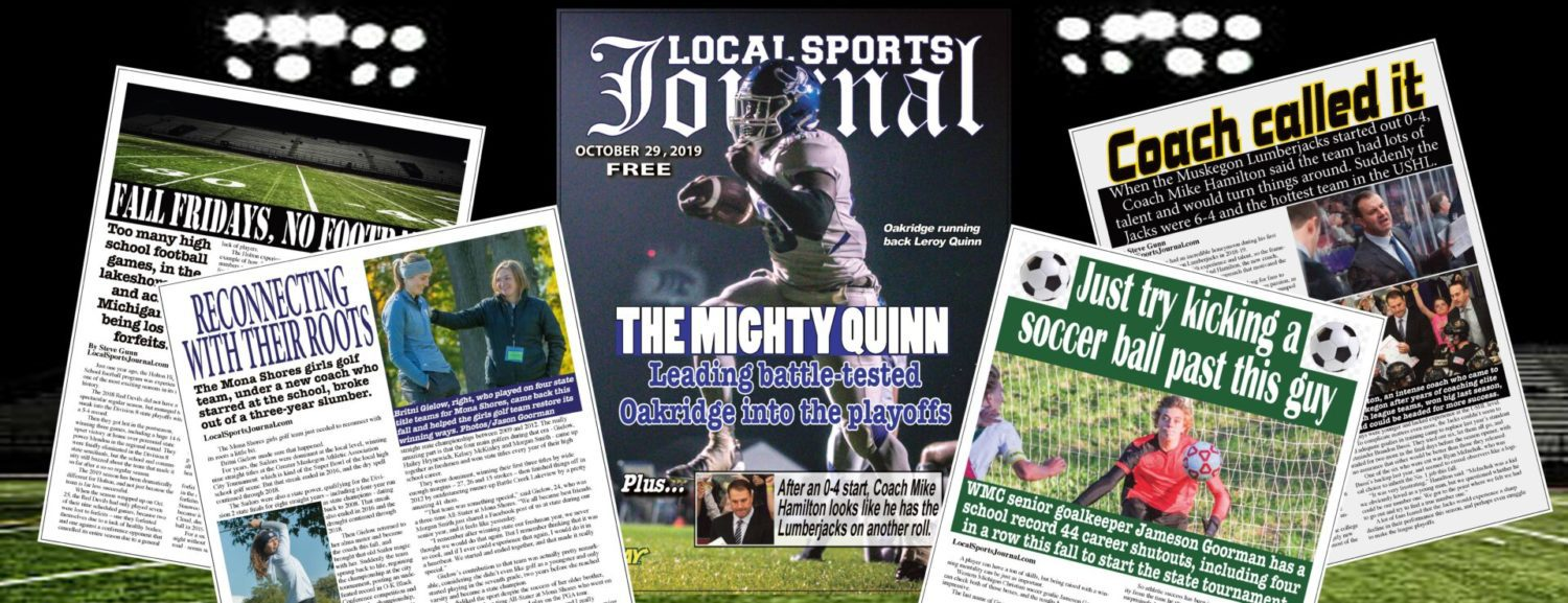 LSJ magazine featuring Oakridge's Leroy Quinn on the cover to hit news stands Friday, get free download here first