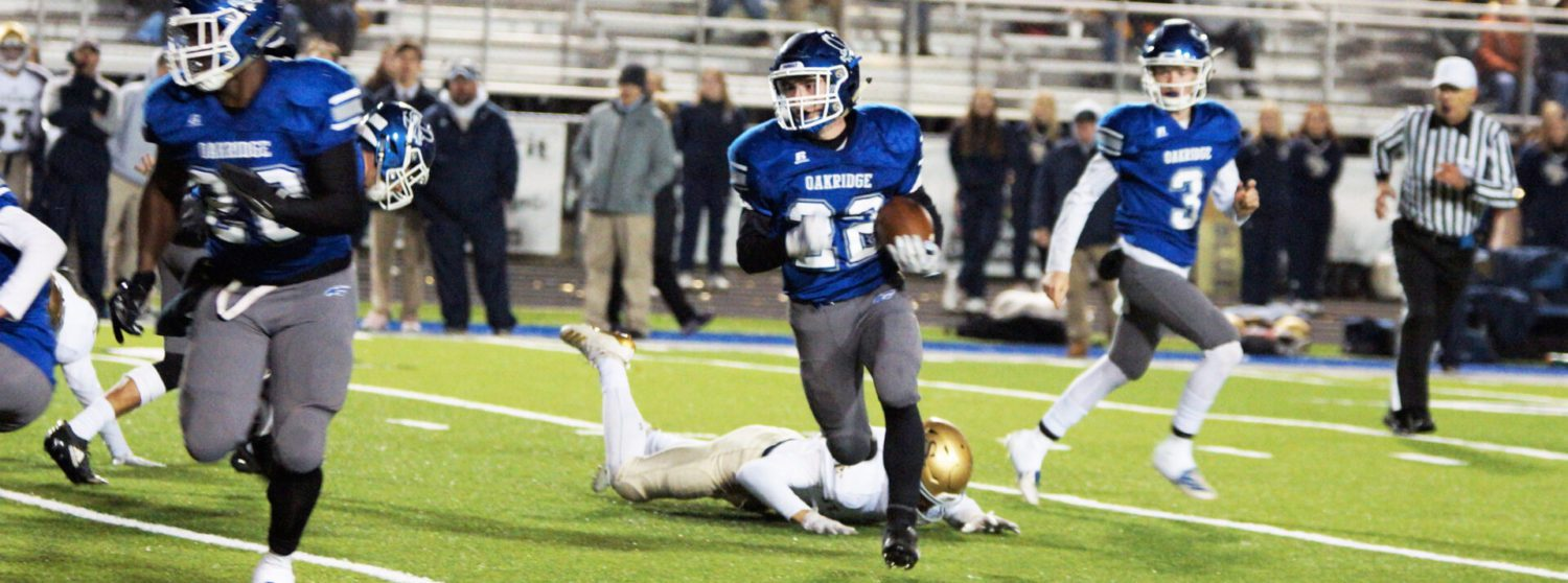 Oakridge outlasts TC St. Francis in battle of state powers, wraps up perfect regular season