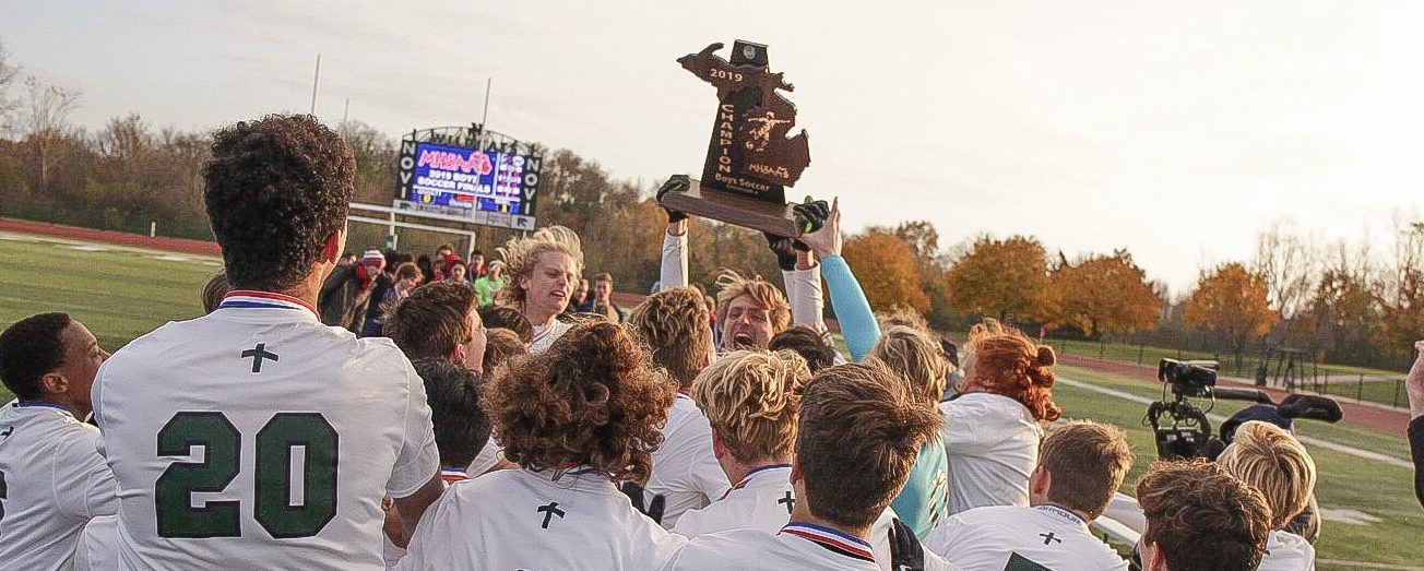 Western Michigan Christian claims Division 4 state soccer championship with a dramatic shootout victory