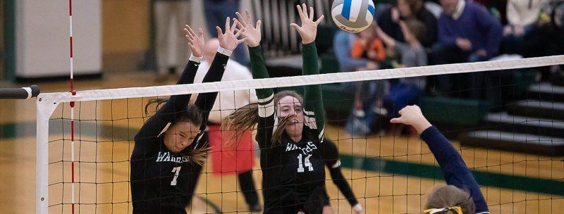 WMC volleyball team beats North Muskegon, wins long-awaited district championship