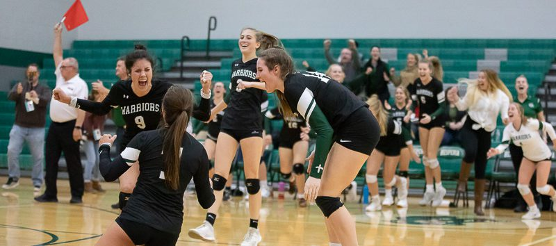 WMC volleyball team sweeps P-W, wins first regional title in program history