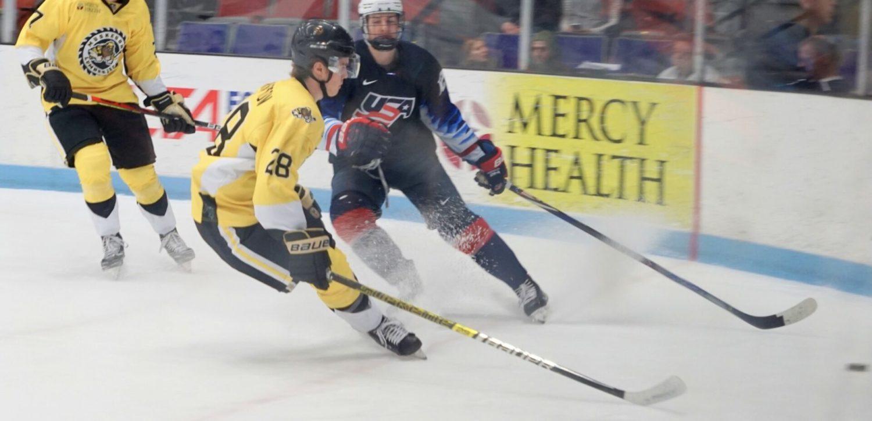 Lumberjacks heads into holiday break with 5-2 loss to Team USA