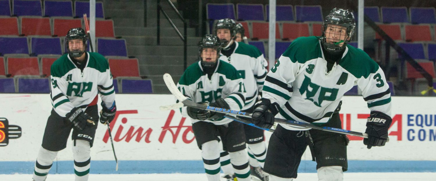 Reeths-Puffer hockey team's winning streak ends in a 6-1 loss to Byron Center