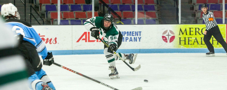 Herniman scores three goals, R-P hockey team beats GR Christian, snaps losing streak
