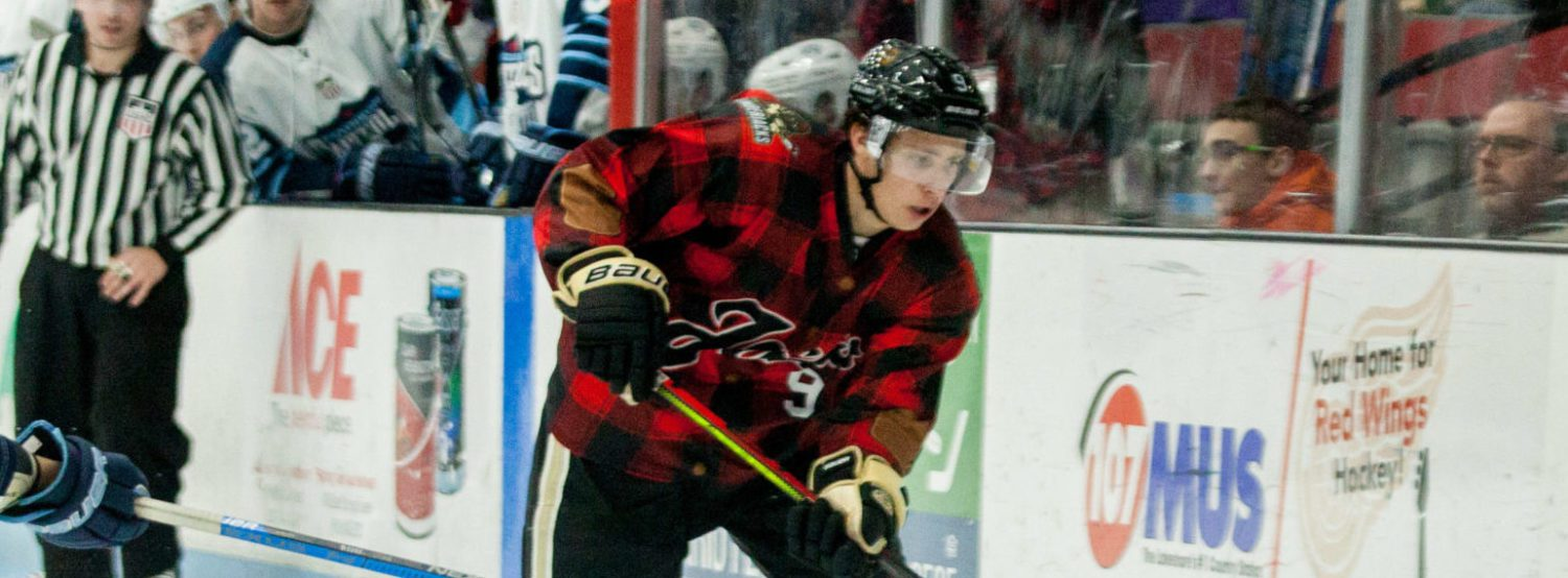 Lumberjacks wake up with an exciting 5-3 win over Madison, snap six-game winless streak