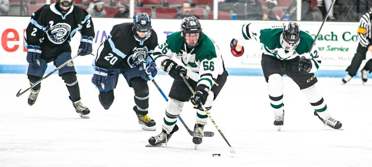 Brainard's overtime goal gives R-P a thrilling 5-4 OT win over Mona Shores in hockey