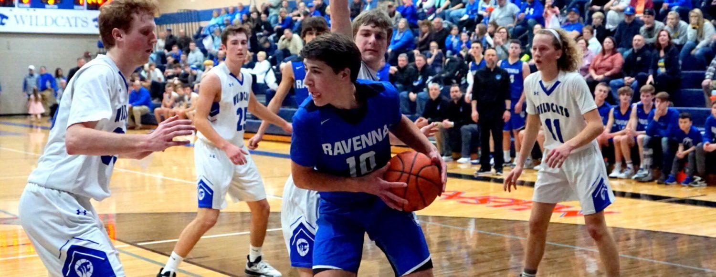Ravenna boys basketball squad defeats Monatague to remain perfect on the season