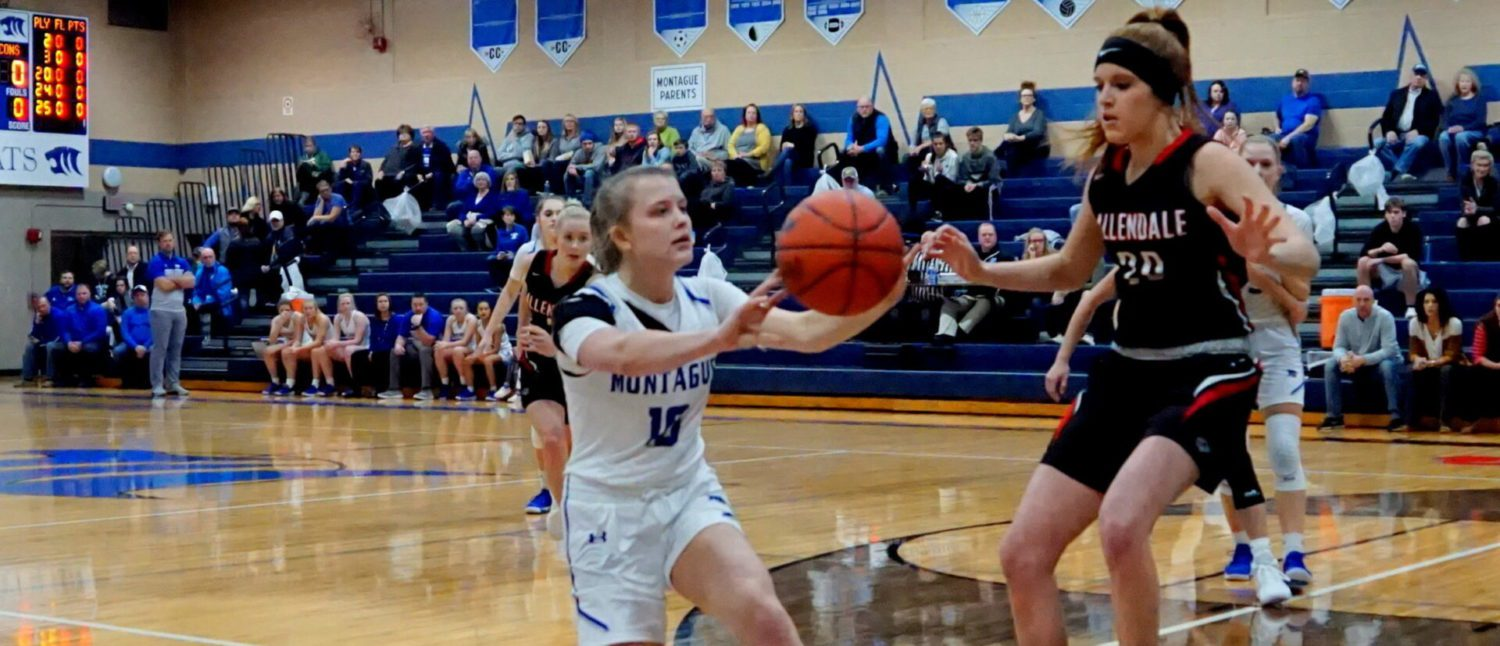 Montague girls show their holiday rust against Allendale, lose their first game of the season
