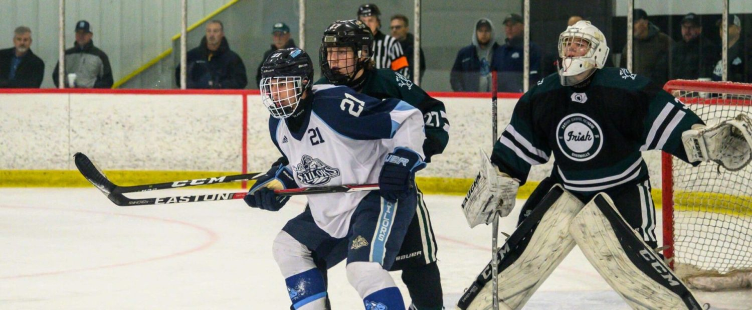 Cotner scores twice as Mona Shores hockey team comes from behind for a 3-2 win
