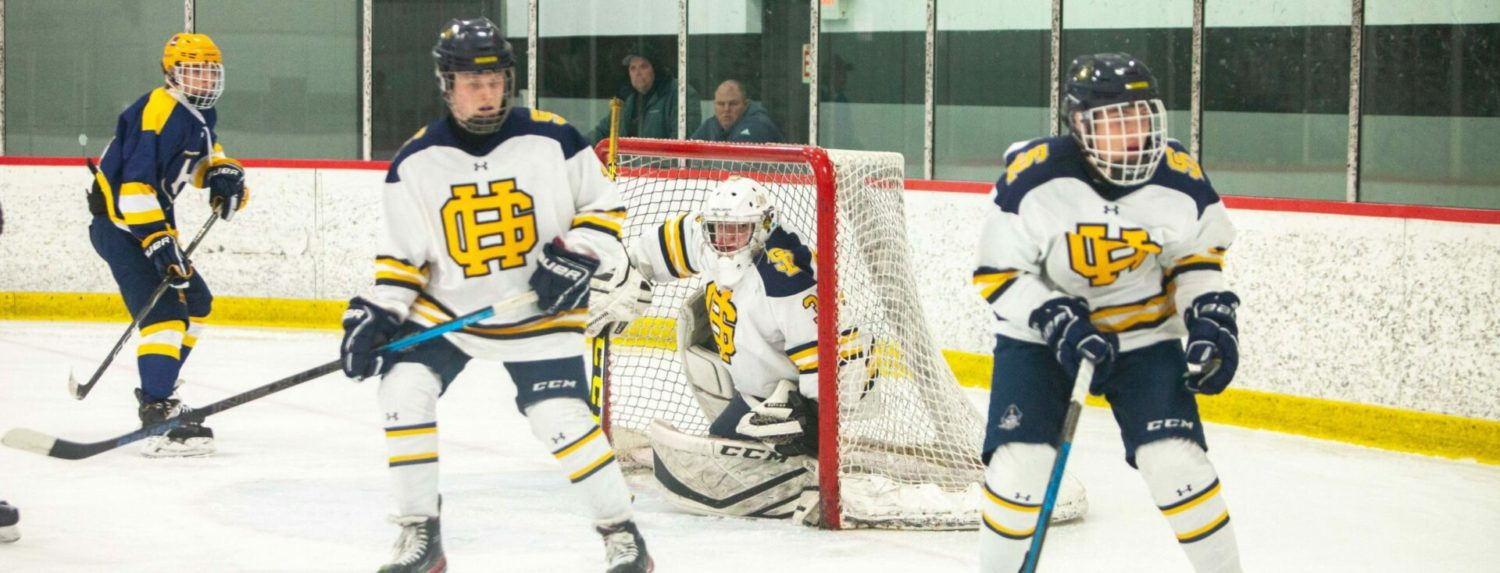 Grand Haven hockey team comes from behind late to steal a  5-3 win over Hudsonville