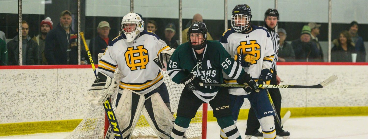 Reeths-Puffer hockey team impressive in a 4-1 win over Grand Haven in the Konrad finals