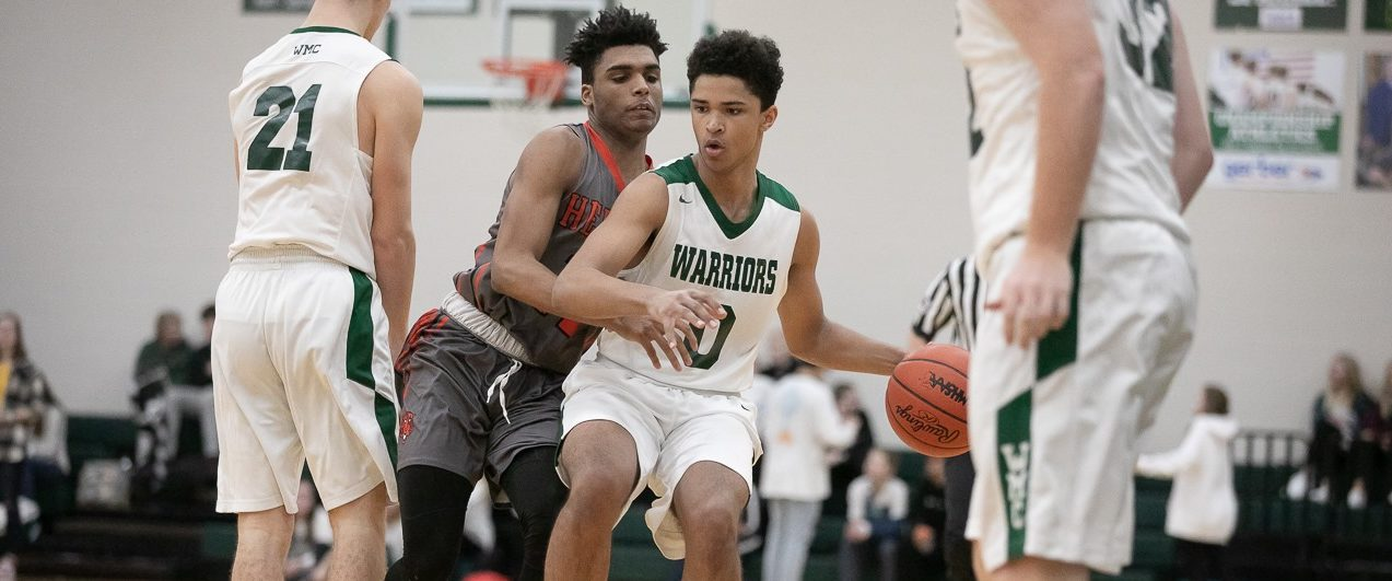 WMC boys basketball team, sparked by two super sophomores, starting to build momentum
