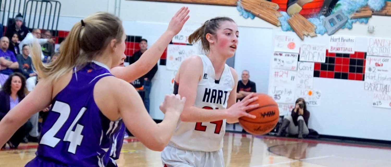 Nicole Rockwell and Jayd Hovey propell Hart girls basketball team over Shelby