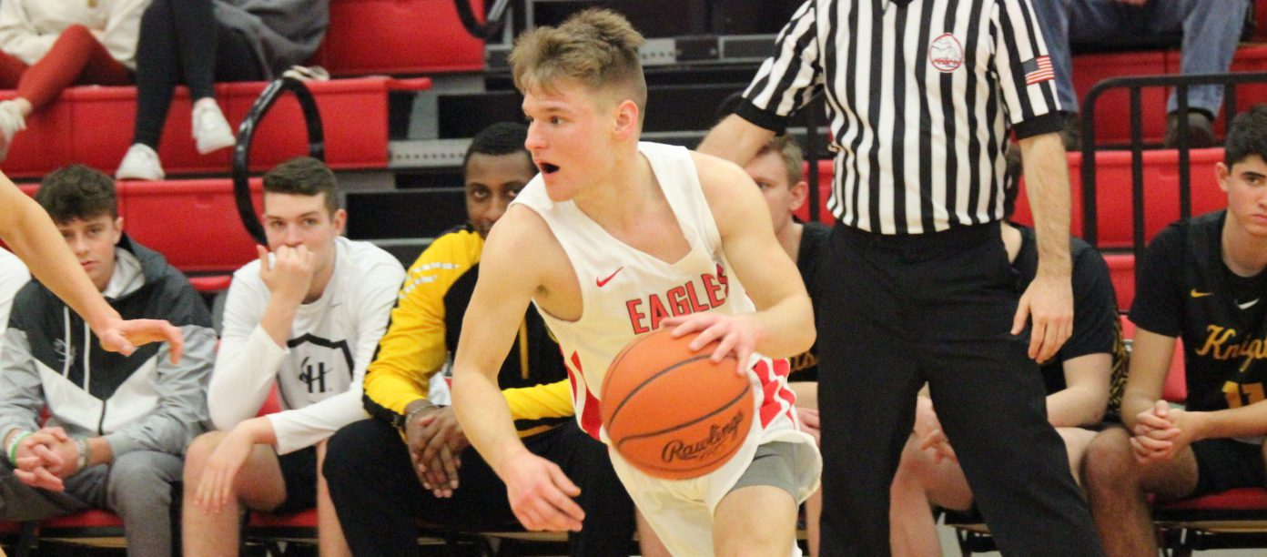Small guy, big scorer: Kent City's Eli Carlson wrapping up a remarkable varsity career