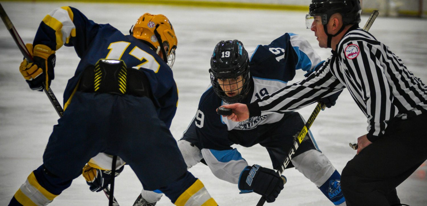 Mona Shores hockey rallies past Hudsonville, wins first league title in 10 years