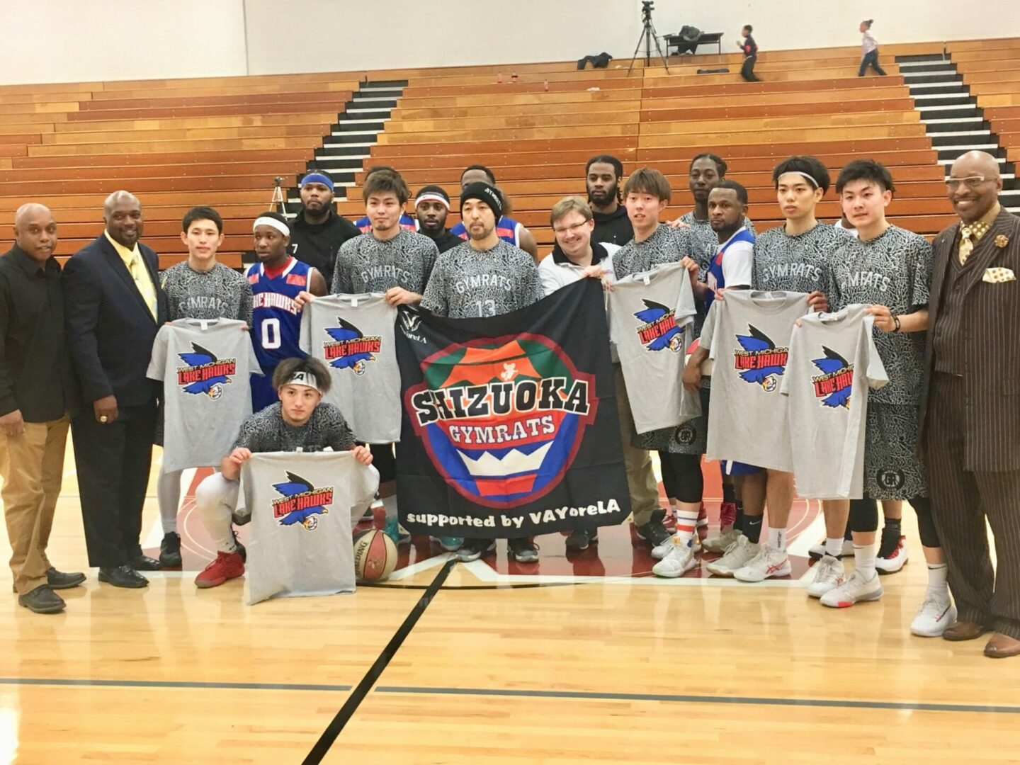 Lake Hawks pick up league win against a Japanese foe from Muskegon's sister city