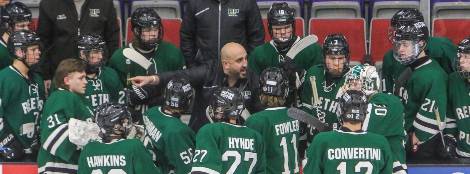 Bill Zalba stuck around after Fury playing days, to the benefit of the R-P hockey team