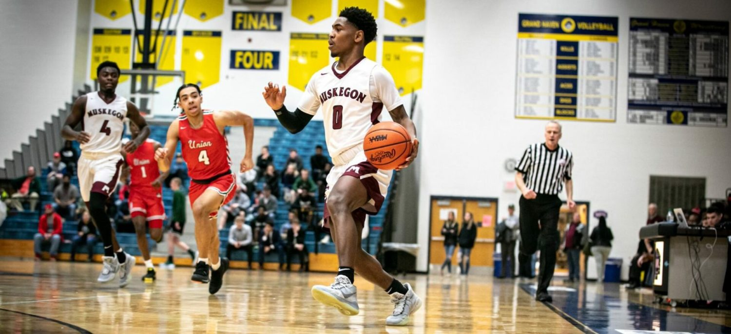 Big Reds appear to be in postseason form in a 74-44 blasting of Grand Rapids Union