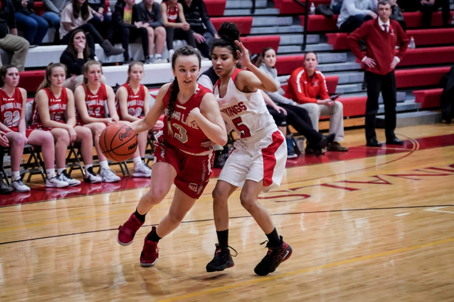 Spring Lake girls basketball team outlasts Whitehall to advance to Div. 2 district finals