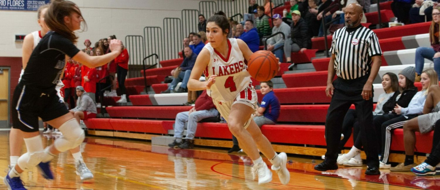Spring Lake girls hang on to their lead this time, beat Montague and win D2 district title